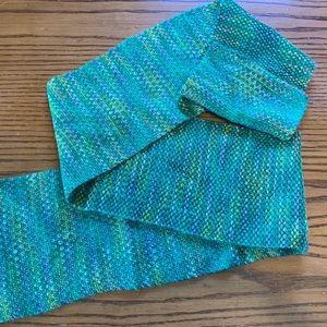Linen Stitch Handknit Scarf